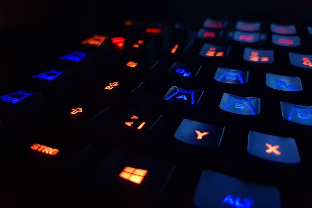 Het ene toetsenbord is het andere nie
